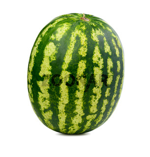 Fresh watermelon isolated