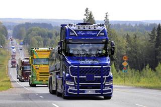 Scania S650 Torpedo Dinges Logistics in Convoy