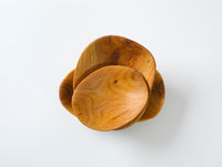 Hand carved wooden bowls