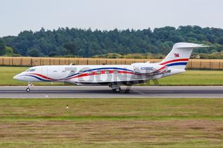 Gulfstream Aerospace G650ER Flugzeug Flughafen London Luton