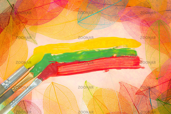 Autumn art background