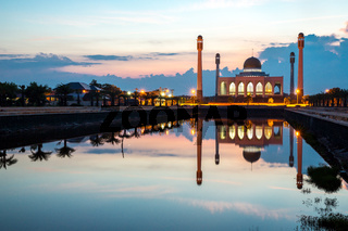 Central mosque Songkhla Thailand