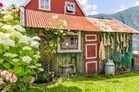 Old traditional home, Sogn og Fjordane, Norway