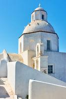 Greek orthodox church in Santorini