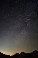 Sternenhimmel in der Wüste
