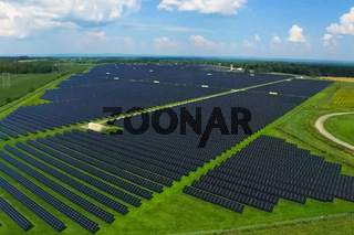 Solar panels. An alternative source of energy. Renewable energy
