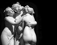 The Three Graces (Le tre grazie) by Antonio Canova
