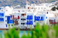 Greek Little Venice, Mykonos, Greece