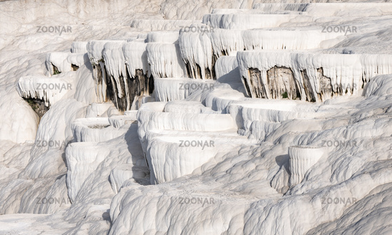 Thermal springs and terraces of Pamukkale, Turkey