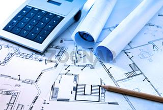 Baupläne und Taschenrechner