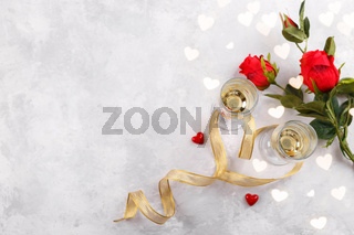 Romantic Valentine day background