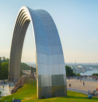 People's Friendship Arch Skyline Kiev