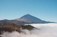 Pico del Teide, mountain landscape in Tenerife
