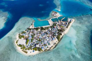 Einheimischeninsel Gulhi, Malediven