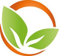 Blätter, Pflanze, Bio, Vegan, Logo, Icon