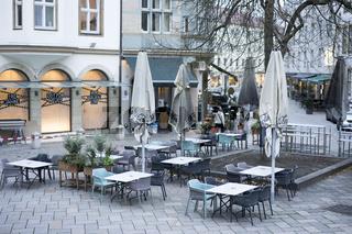 Old Market Square in Bielefeld