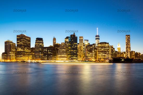 New York City Manhattan skyline