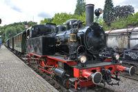 Zug der Kandertalbahn Museumsbahn