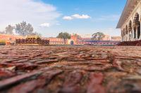 Agra Fort inner court, India, Uttar Pradesh