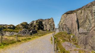 Dinorwic Quarry, near Llanberis, Gwynedd, Wales, UK