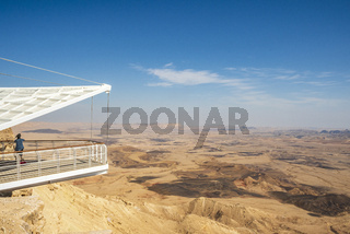 Mitzpe Ramon Visitor Center, Ramon Crater, Negev, Israel