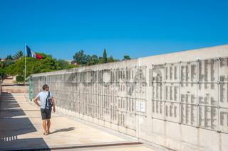 Nekropole für den Krieg in Indochina in Frejus