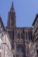 Strassburger Münster,  Westfassade
