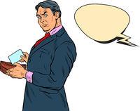Male businessman buyer