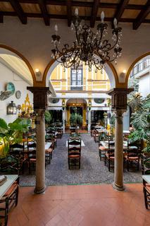 Innenhof in Sevilla