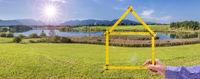 Wohnen auf dem Land im Traumhaus