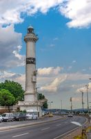 Ahirkapi Lighthouse in Istanbul, Turkey