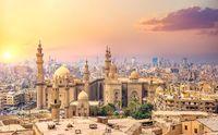 Dusk over Cairo