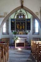 Kirche St. Kathrein in der Scharte - Innenansicht