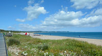 Strand von Swinemuende oder Swinoujscie,Ostsee,Westpommern,Polen