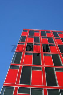 Moderne Fassade, Düsseldorf, Deutschland