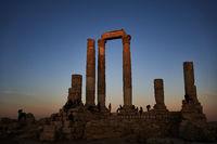 Herkules Tempel in Amman - Jordanien