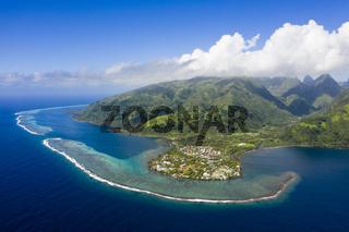 Tautira, Tahiti Iti, Franzoesisch-Polynesien