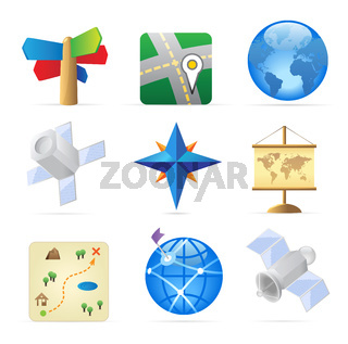 Icons for navigation