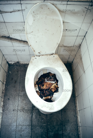 Eklige Toilette