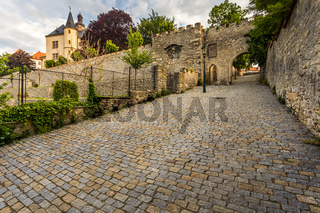 The walls of the historic city