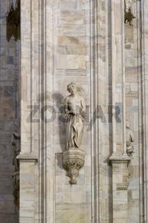 San Celso, Skulptur, Dom, Mailand
