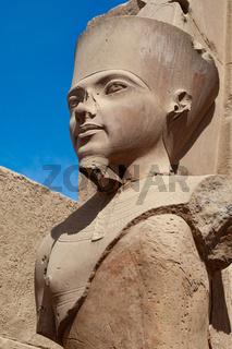 Pharaonic portrait, Luxor, Egypt