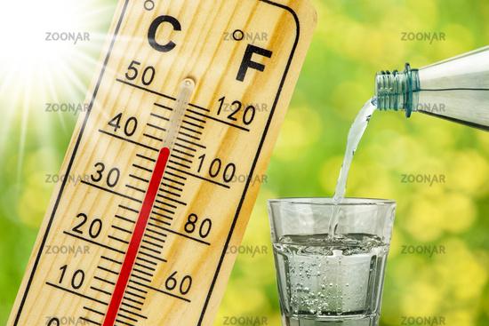 Hitze und Trockenheit