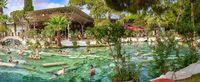Cleopatra antic Pool in Pamukkale, Turkey