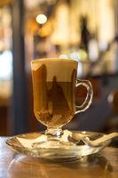 Marocchino coffee in a cafe