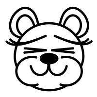 Lustiger Bär - Augen zu