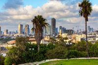Magnificent panorama of Tel Aviv
