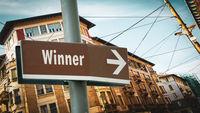 Street Sign to Winner