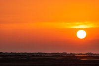 Oranger Sonnenuntergang am Meer-4.jpg