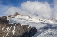 Gletscher bei Sustenhorn in der Schweiz